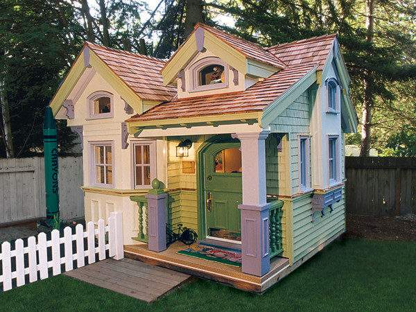 Cottage Playhouse Plans Pdf Woodworking