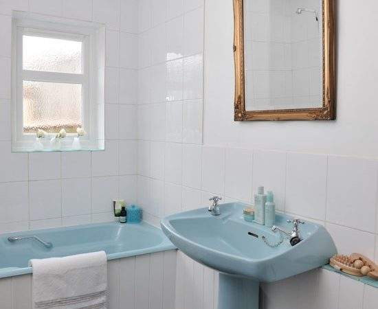 Country Blue Bathroom Best Cars Reviews