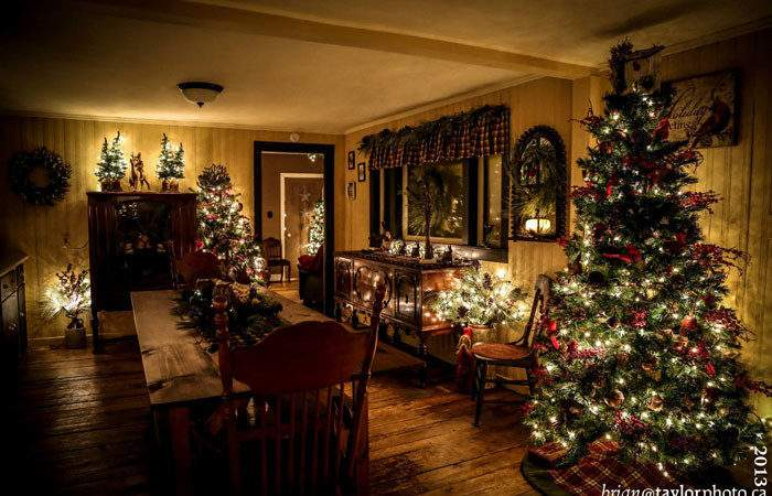 Country Christmas House Tour Fynes Designs