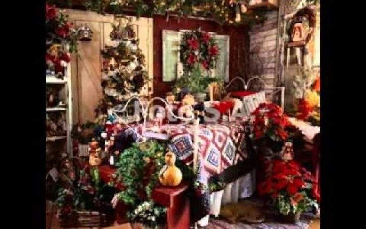 Country Home Christmas Decorating Ideas Let