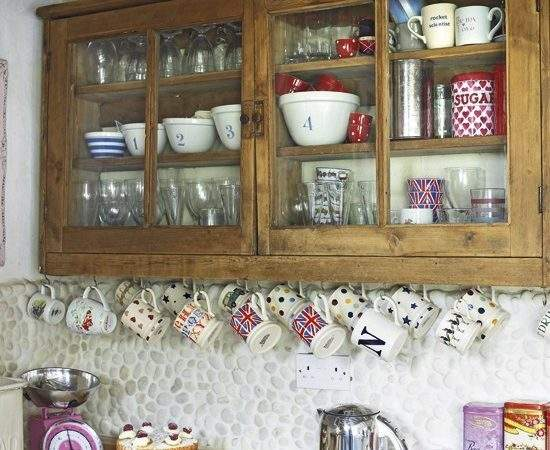 Country Kitchen Storage Cupboards Shelving
