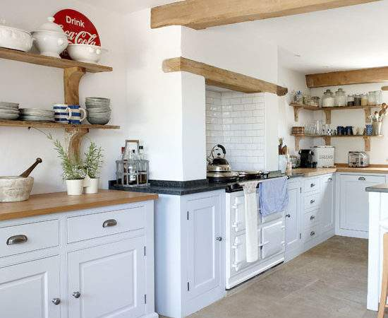 Country Kitchen Storage Ideas Ideal Home