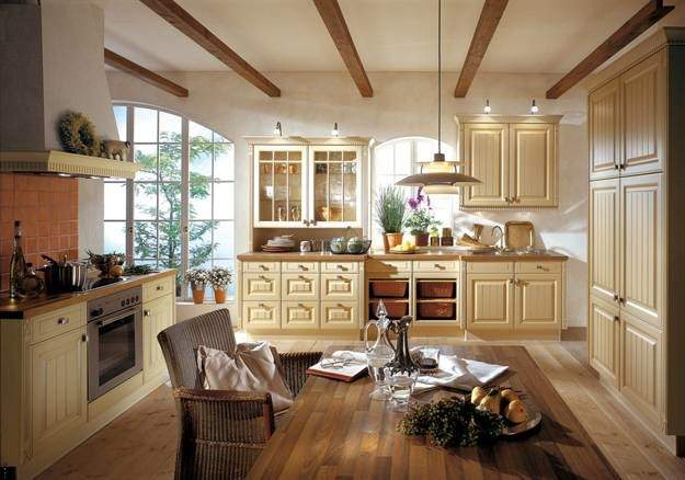 Country Kitchens Blending Traditions Modern Ideas