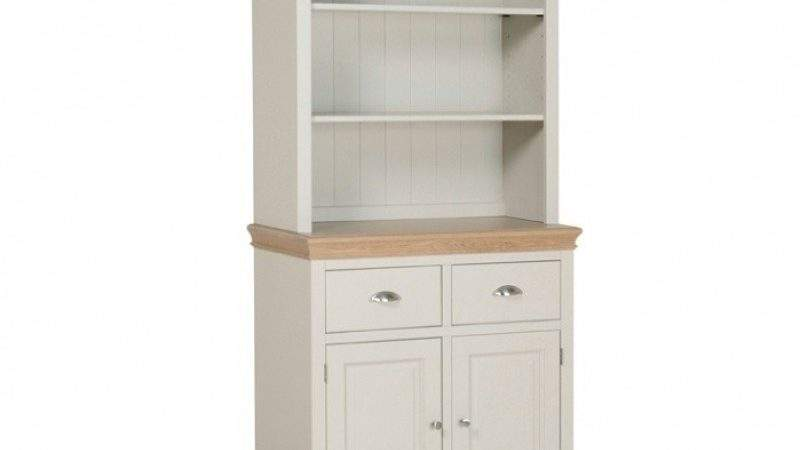 Country Oak Painted Small Open Top Welsh Dresser