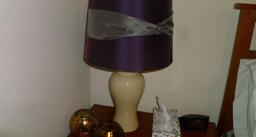 Cover Lamp Shade Without Trim Sew
