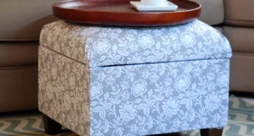 Cover Upholstered Ottoman Tos Diy