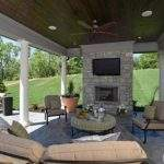 Covered Outdoor Entertaining Area Draws Crowd