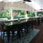 Covered Outdoor Entertaining Area Provides Multiple