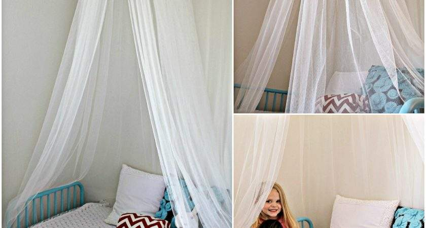 Craftaholics Anonymous Make Bed Canopy