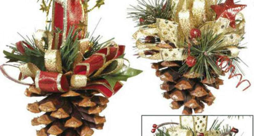 Craftdrawer Crafts Pine Cone Ornaments Christmas