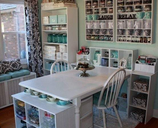 Crafty Girl Bliss Craft Room Ideas Pinterest