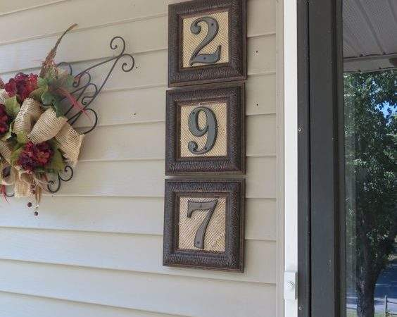 Crative Ways Display Your House Numbers