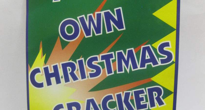 Create Your Own Christmas Crackers Diy Kit