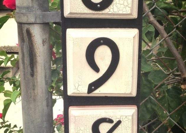 Creative Diy House Numbers Ideas