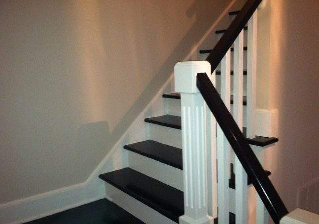 Creative Idea Painting Stair Treds Traditional