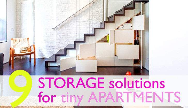 Creative Storage Furniture Solutions Small Spaces