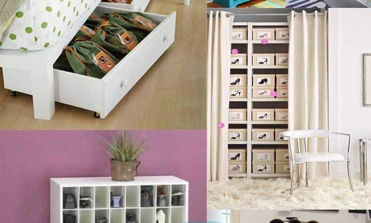 Creative Storage Ideas Shoes Desired Home