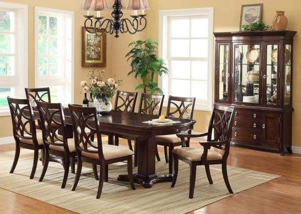 Crown Mark Katherine Transitional Dining Room Set