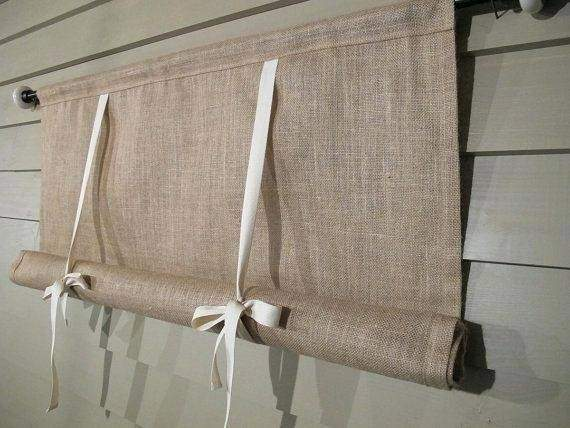 Curtain Blackout Tie Shade Pull Curtains Pottery Barn