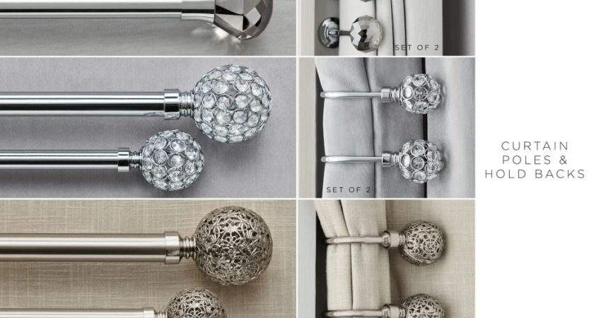Curtain Poles Tie Backs Home Furnishings