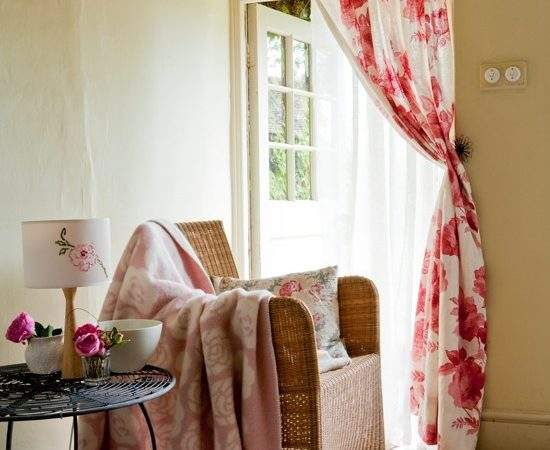 Curtains Country Cottage Decorating Steps New
