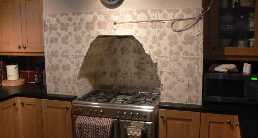 Cut Into Chimney Kitchen Cooker Fit Chimneys