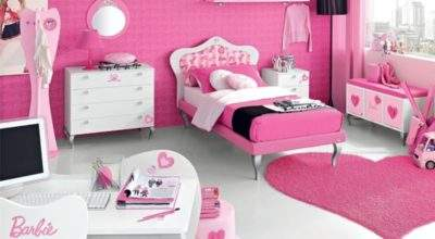 Cute Barbie Girly Bedroom Ideas