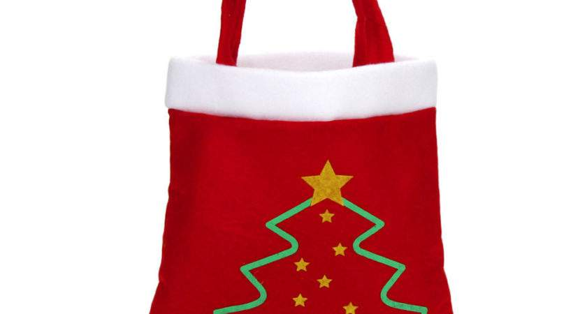 Cute Small Gift Bags Christmas Candy Xmas Gifts