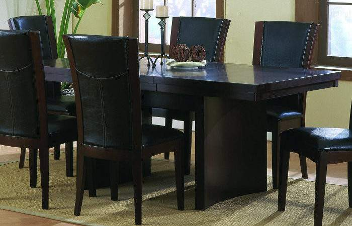 Daisy Piece Dining Room Set Dark Brown Efurniture