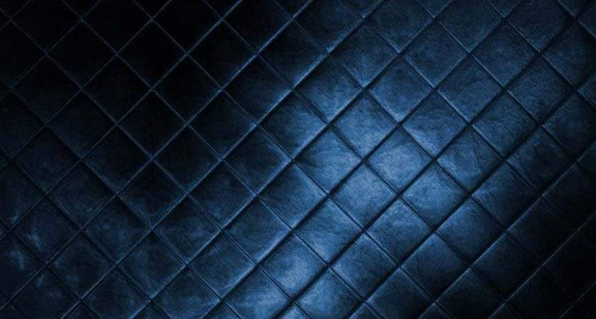 Dark Blue Leather Texture Android