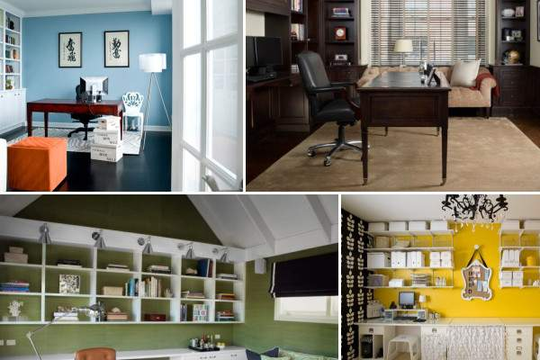 Decide Which Color Best Your Home Office
