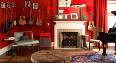 Decorate Home Music Room
