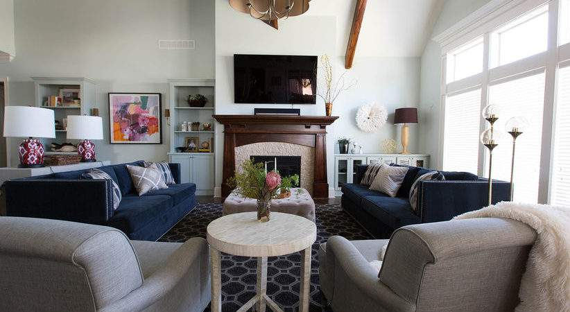 Decorate Large Living Room Real Simple