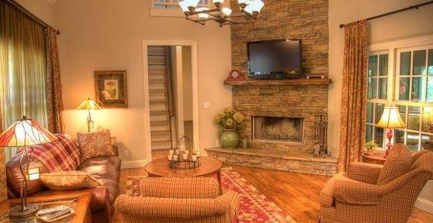 Decorate Living Room Country Style Best Home