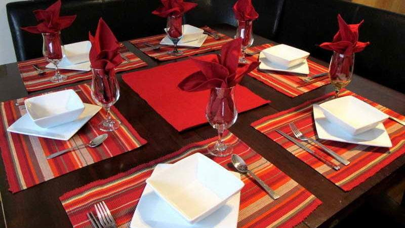 Decoration Chinese Table Settings Modern