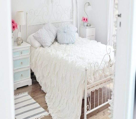 Decoration Idea Bedroom Modern Shabby Chic White