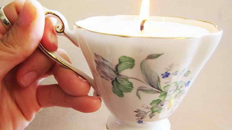 Decoration Make Soy Tea Cup Candles