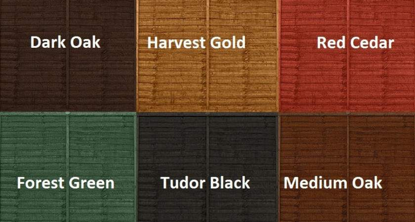 Decorative Ronseal Wood Stain Colour Chart Lentine