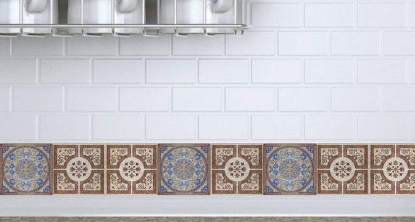Decorative Wall Tile Decals Kitchen Ideas