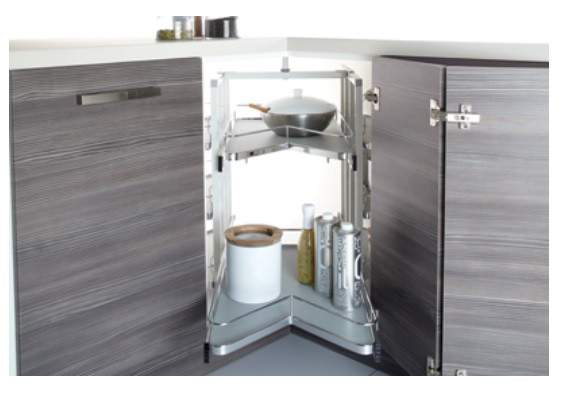 Degree Ultimate Pull Out Carousel Custom Made Kitchens