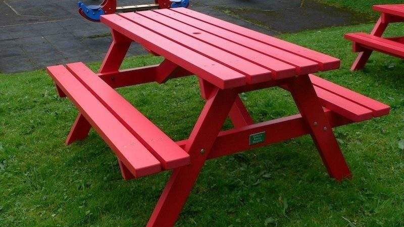 Derwent Recycled Plastic Picnic Table Bench