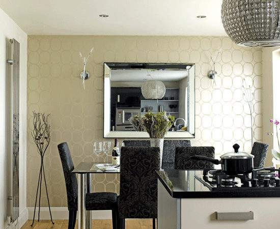 Designer Style Kitchen Diner Decorating