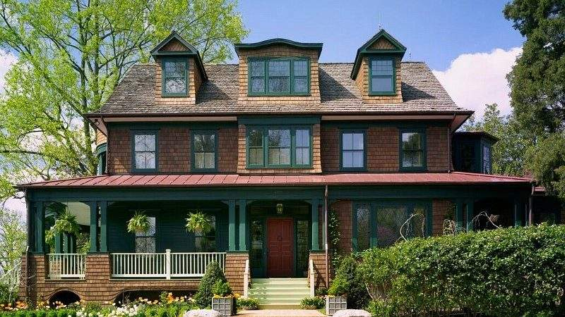 Designing New Shingle Style House Classic Old