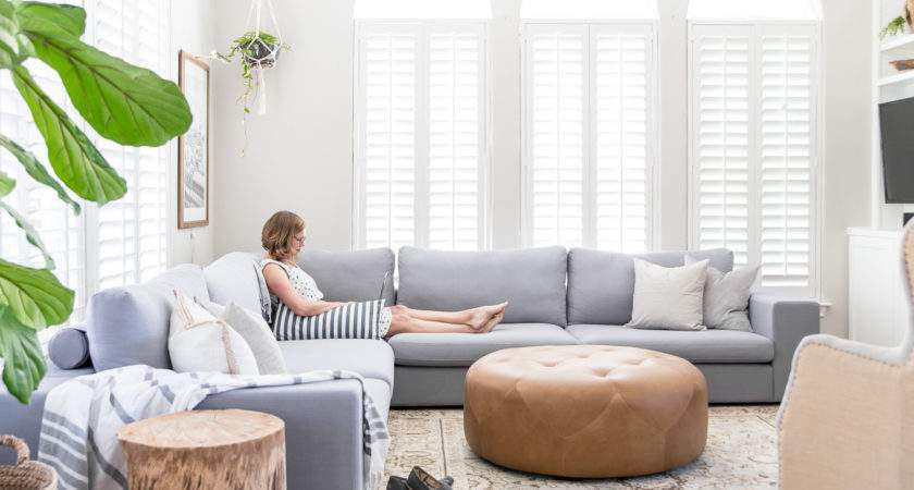 Designing Small Living Room Large Sectional