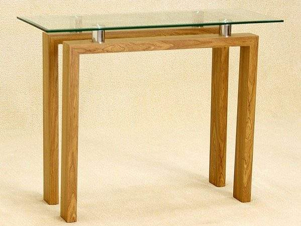 Diana Glass Console Table
