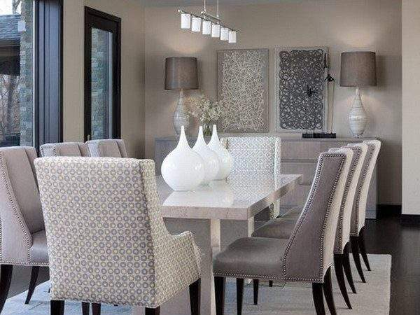Dining Room Amazing Modern Table Centerpieces