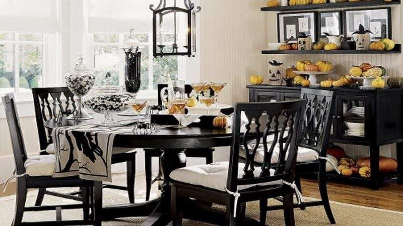 Dining Room Gold Wall Decor Ideas