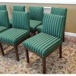 Directional Contract Furniture Green Striped