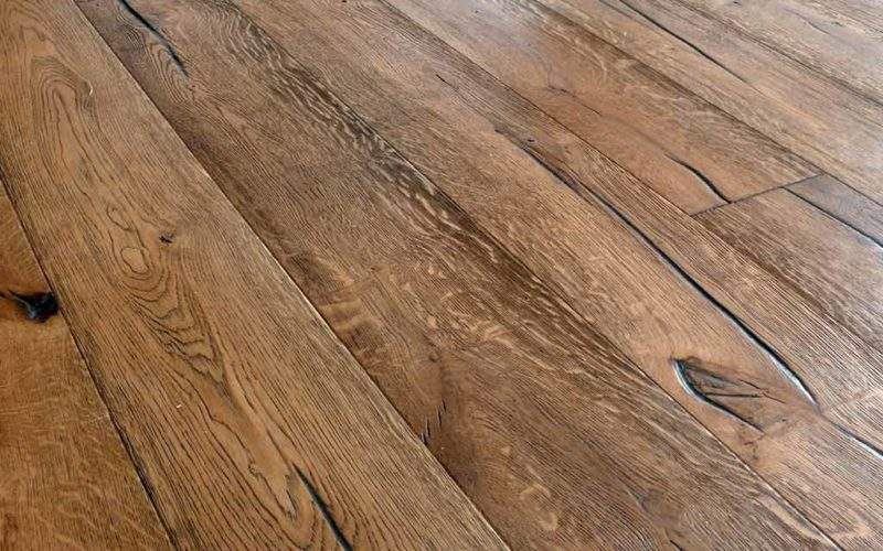 Distressed Wood Floor Antique Floors Reclamed Oak