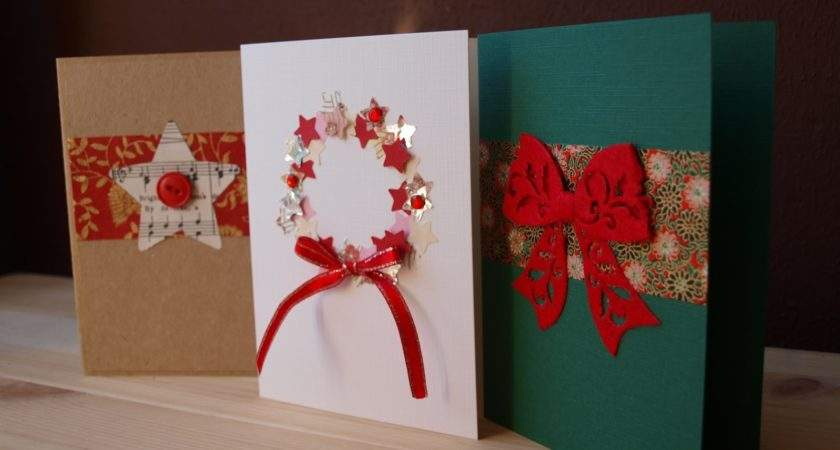 Diy Christmas Cards Ideas Make Home